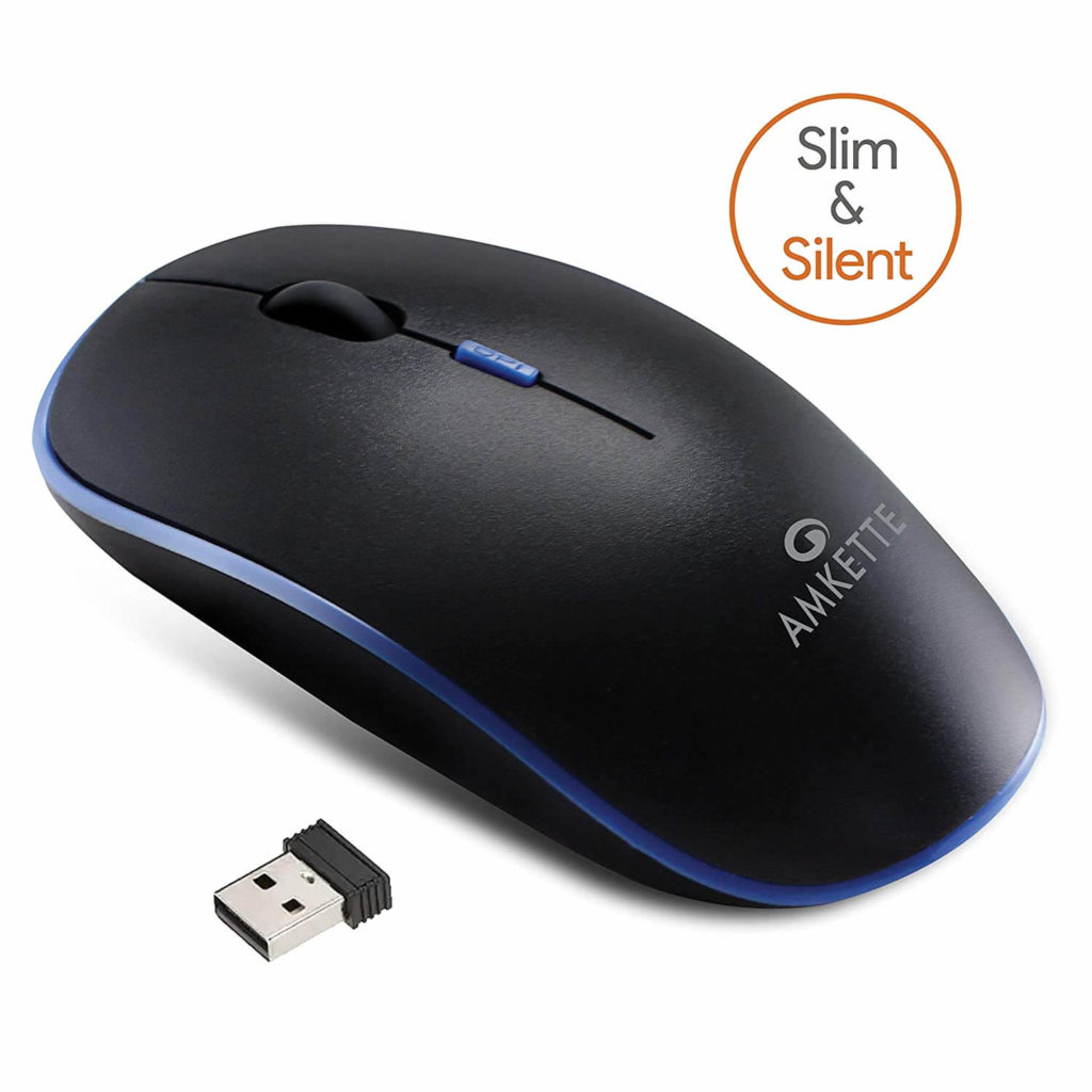 Amkette Hush Pro Wireless Mouse. Img_source: https://honestreviews.in/best-wireless-mouse-for-hp-laptop/